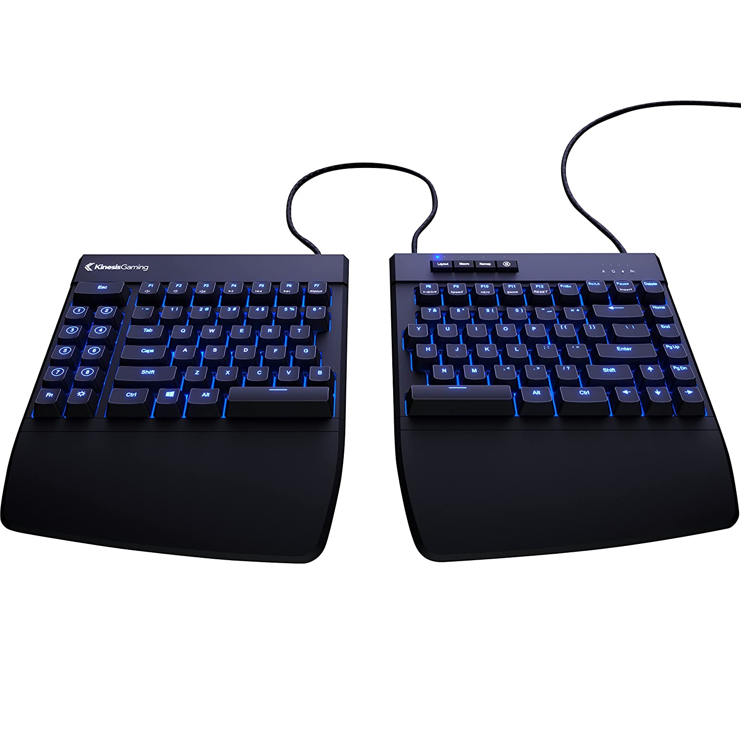 KINESIS Freestyle Edge Split Mechanical Keyboard Kinesis Gaming KB950-BRN