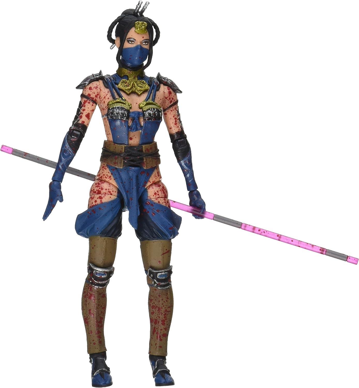 Amazon Com Mezco Toys Mortal Kombat X Kitana 6 Action Figure