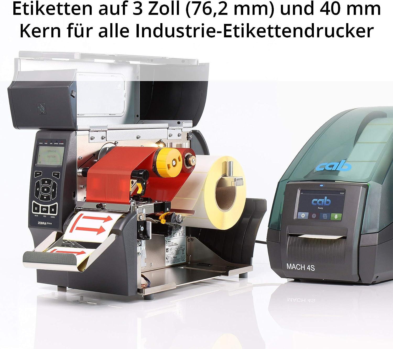 1000 VOID-Effekt Etiketten auf 3 Zoll Rolle f/ür Standard- und Industriedrucker Labelident Hologramm Aufkleber 50,8 x 25,4 mm permanent