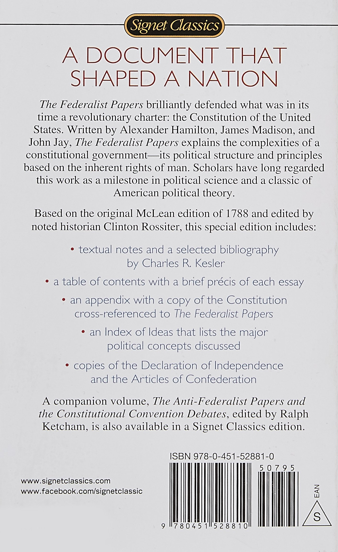 federalists essays federalist vs anti federalist essay our work  the federalist papers signet classics alexander hamilton james the federalist papers signet classics alexander hamilton james