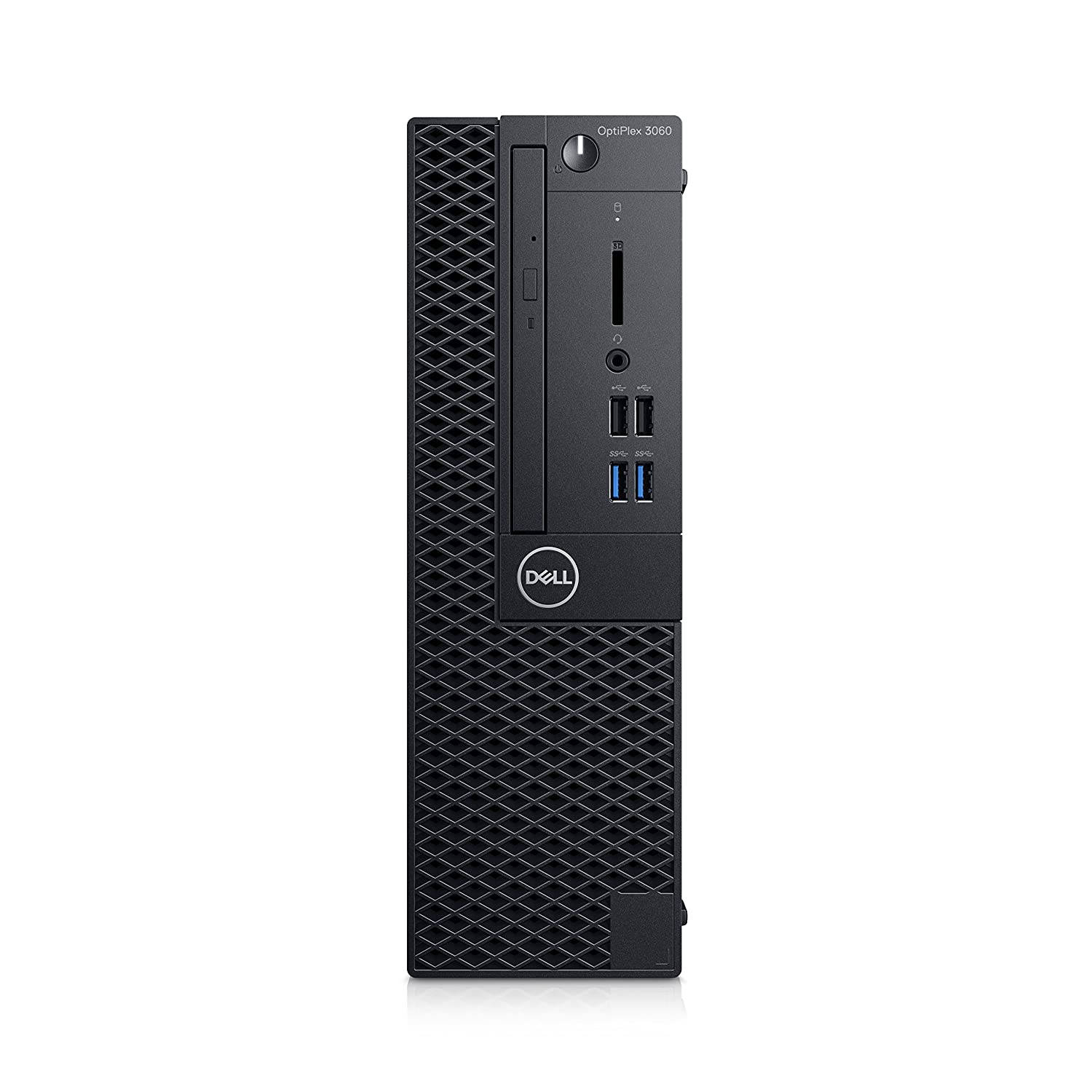 Dell OptiPlex 3060 3.6GHz i3-8100 SFF 8ª generación de procesadores Intel® Core i3 Negro PC OptiPlex 3060, 3,6 GHz, 8ª generación de procesadores Intel® Core i3, 8 GB, 256 GB, DVD±