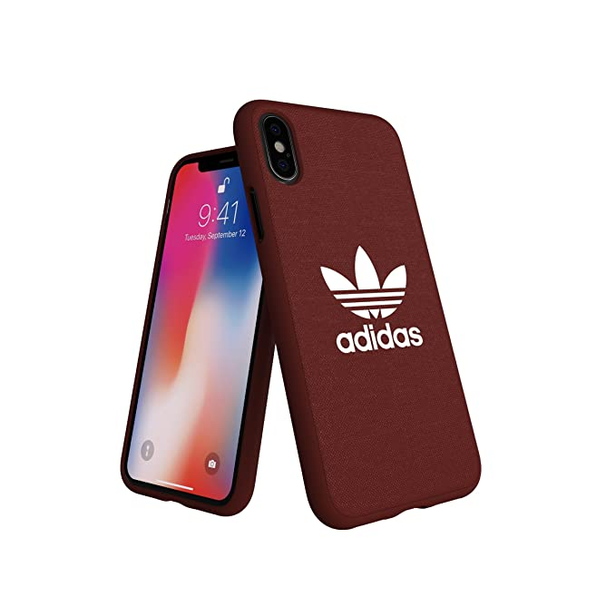 separation shoes 5fe4c 8f01e adidas Originals Moulded Case Compatible with iPhone X/XS - Red