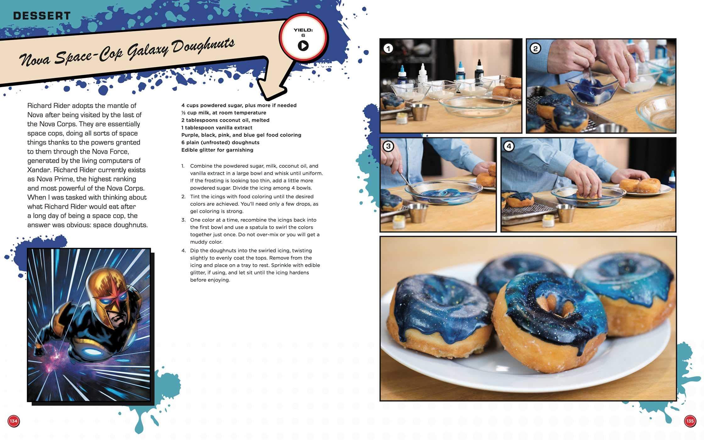 marvel cookbook