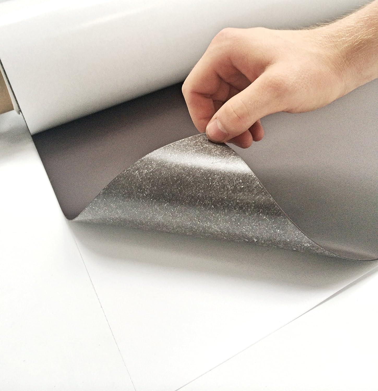 1x roh selbstklebend DIN A3 Magnetfolie 0,7mm x 297mm x 420mm Magnetfolien