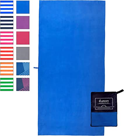 Fitness Microfibre Towel Swimming Sports, Quick Drying for Gym EXTRA LARGE