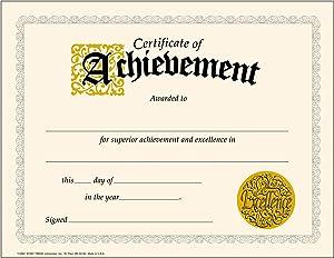 TREND enterprises, Inc. Certificate of Achievement Classic Certificates, 30 ct