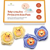 Baby Knee Pads For Crawling - Knee Pads Baby Adjustable Padded Accessories for Infant to Toddler Boys and Girls - Cute…