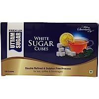 Uttam Sugar White Sugar Cubes, 500g Carton