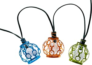 Smart Solar 3758WR20 Gala 20 White LED String Lights, Includes Rechargeable Ni-MH Battery For Up To 8 Hours Of Illumination Each Night