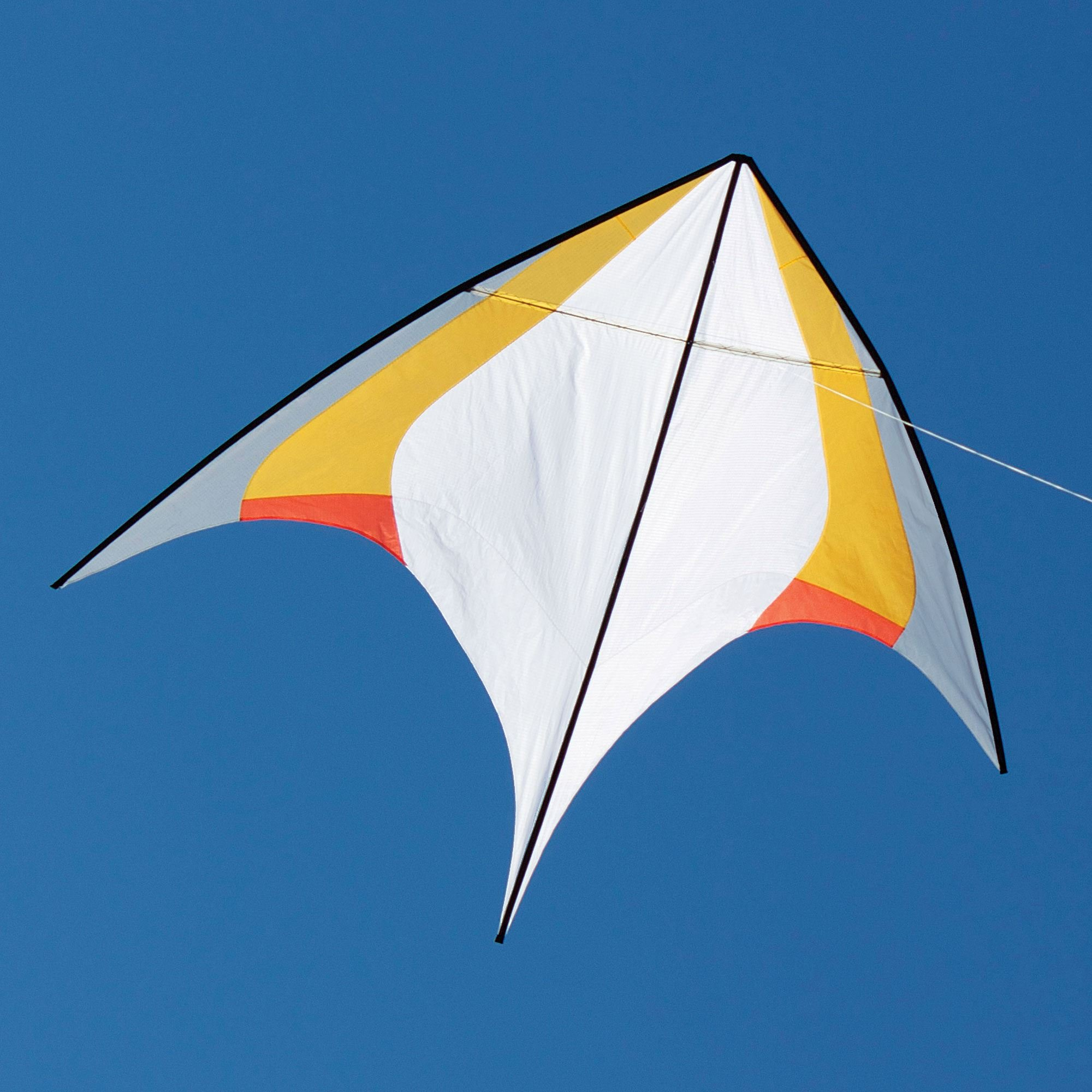 Into The Wind Manta Kite - Gold