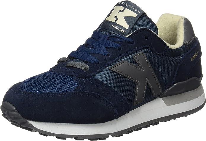 Kelme Charles, Zapatillas Unisex adulto, Azul (Marino), 40 EU: Amazon.es: Zapatos y complementos