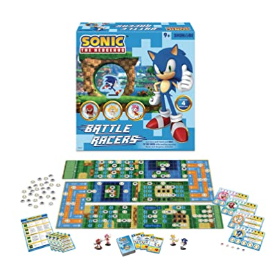 Shinobi 7 Sonic The Hedgehog: Battle Racers Miniatures Board Game, (Model: MAY188742): Shinobi 7: Toys & Games