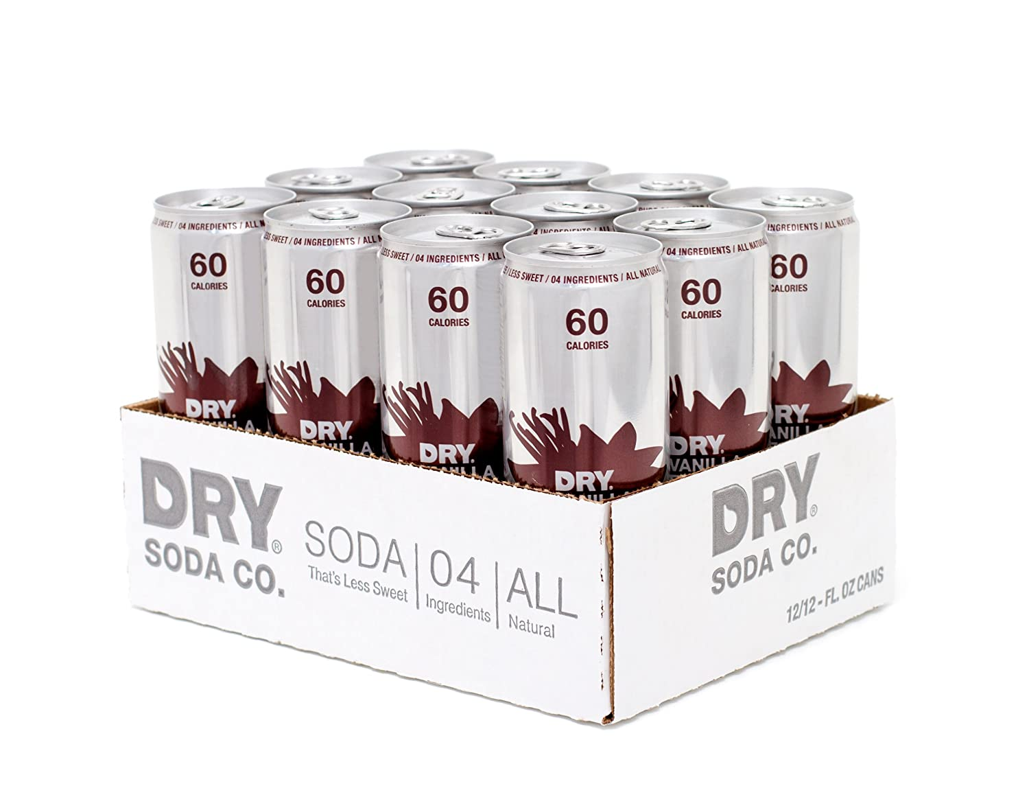 Amazon.com : Apple DRY Soda, 12 Ounce Cans (Pack of 12) : Soda Soft ...