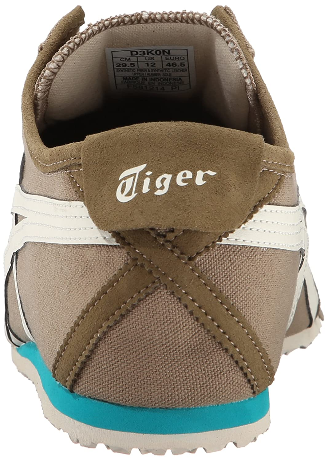 Onitsuka Tiger Mexico 66 Slip-On Classic Running Sneaker B00L8IYOW8 8.5 M US|Light Brown/Sight White