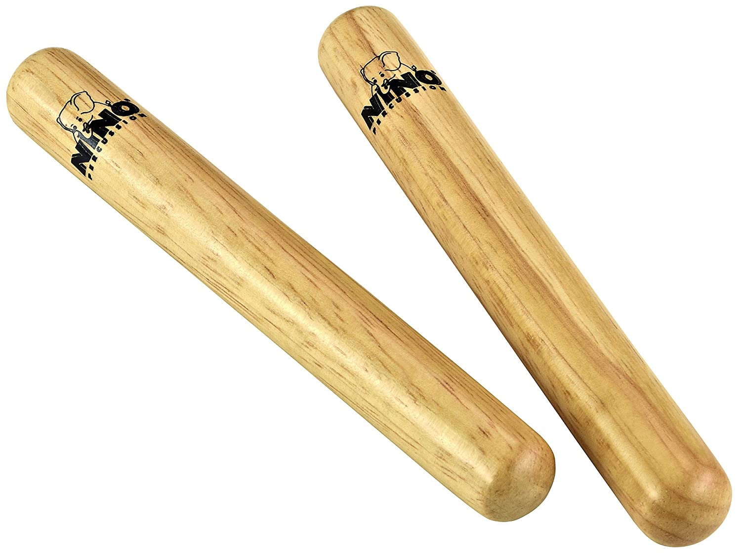 Nino Wood Claves Small Natural Nino Percussion NINO502