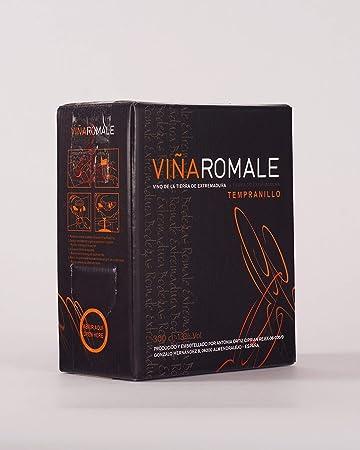 Viña Romale - Bag in Box Vino Tinto Joven Tempranillo - Grifo antigoteo 5L