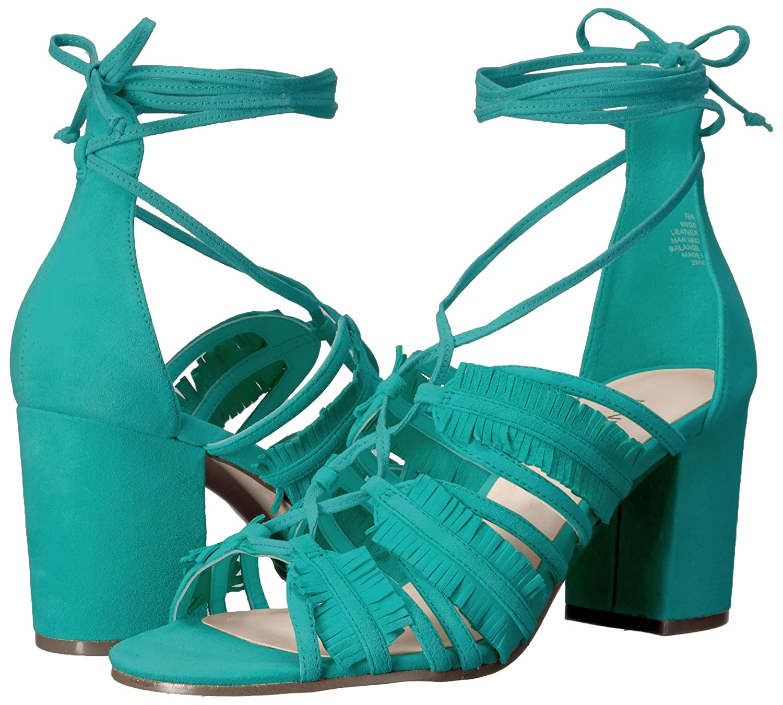 Nine West Womens Genie Suede Dress Sandal