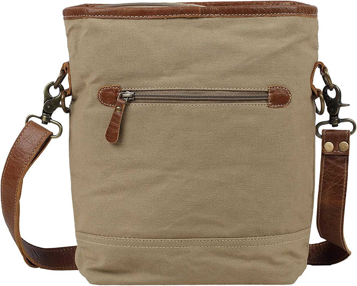 Myra Bag Mosavo Upcycled Canvas Leather Shoulder Bag S 1579 Handbags Amazon Com We're very pleased to announce the myra bag collection has arrived at linda's stuff, first in canada to be offering this collection. amazon com