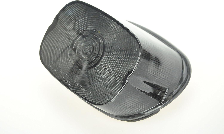 Inserti per indicatori di direzione a LED da 5,1 cm con copriobiettivo per Harley Davidson Touring Dyna Softail Tri Gilde Sportster