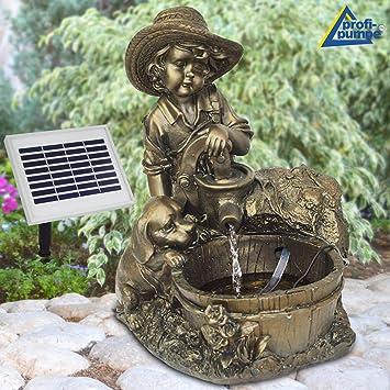 Fontaines de jardin pompe solaire étang solaire fontaines SOLAIRE ...