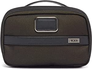 TUMI - Alpha 3 Split Travel Kit - Luggage Accessories Toiletry Bag for Men and Women - Reflective Multi