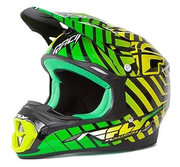 Fly Racing Casco Tres. 4 Verde/Lima - Green, XL