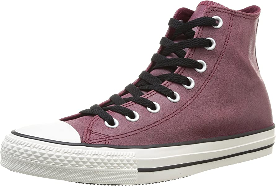73f8b458eb9c Amazon.com  Converse Mens Chuck Taylor All Star Vintage Hi Oxheart Sneaker  - 8.5 Men - 10.5 Women  Shoes