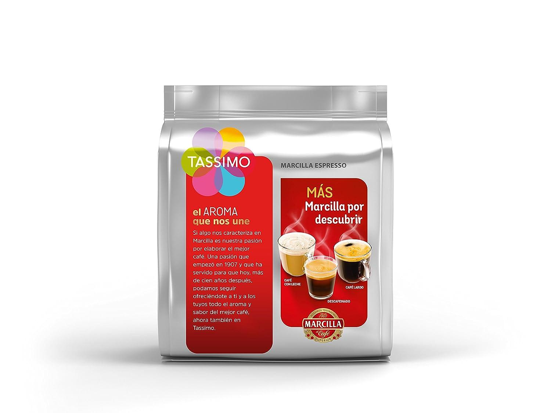 Tassimo Marcilla - Café Espresso, 1 pack de 16 T-DISCs: Amazon.es: Alimentación y bebidas