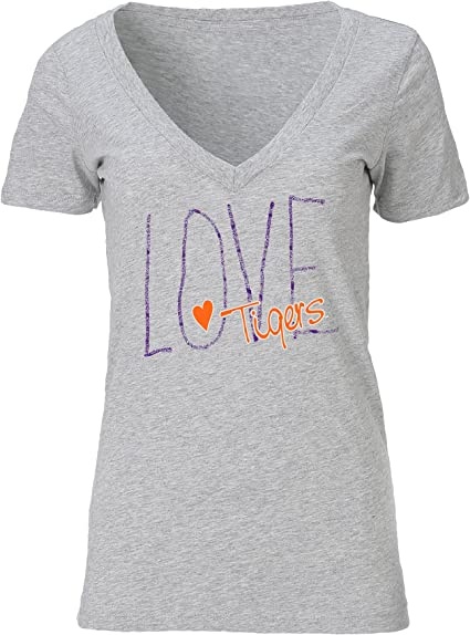 Ouray Sportswear Adult-Women Tri-Blend Deep V-Neck Tee