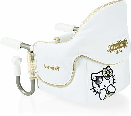 Brevi 490hk Hello Kitty 456 Diva Seggiolino Tavolo Dinette Bianco E Oro Amazon It Prima Infanzia
