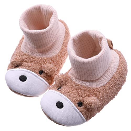d1e23ce36a046 Amazon.com | CHOWISH Newborn Baby Booties Boy Girl Premium Soft ...