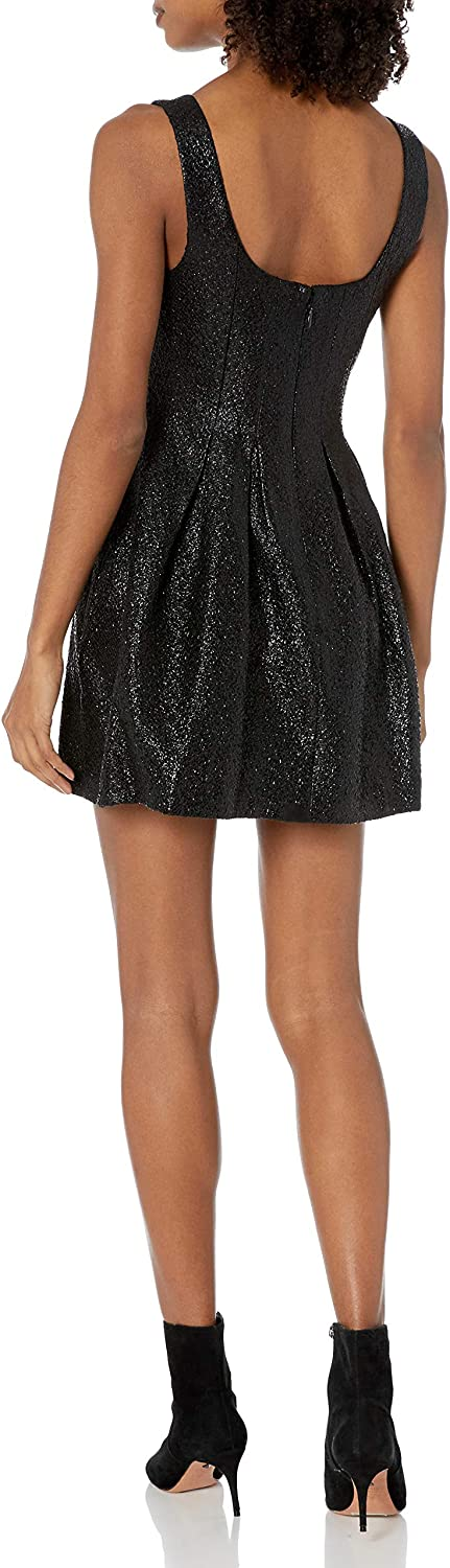 BCBGeneration Womens Fitted Bodice Dress