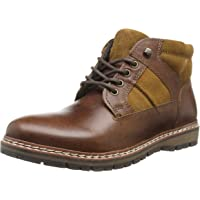 Red Tape Men's Huxley Boots, Brown