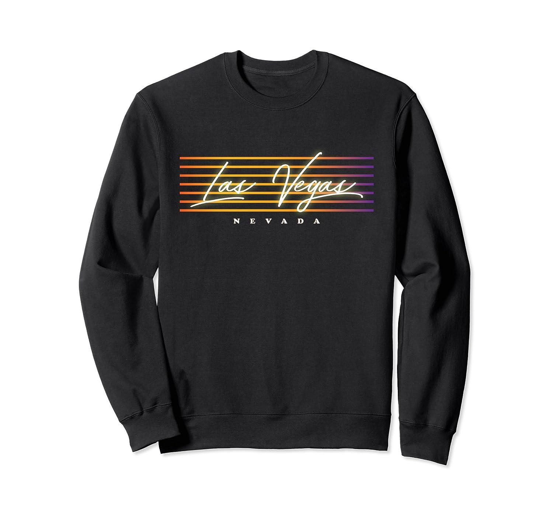 Retro 80s Style Vintage Las Vegas Nevada Sweatshirt-alottee gift