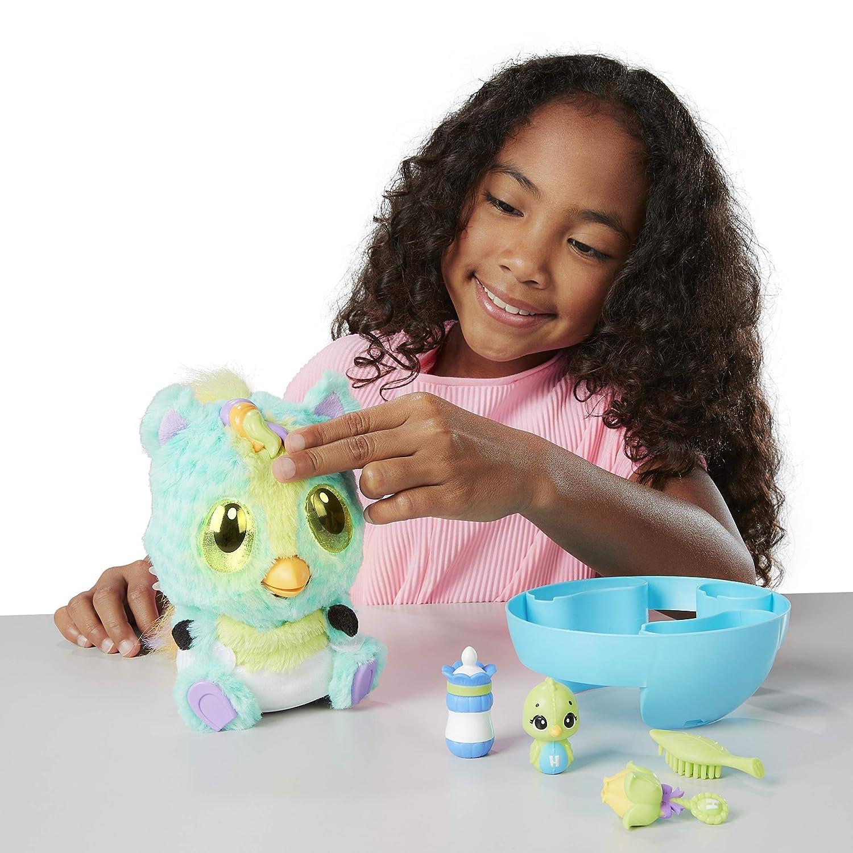 Hatchimals - 6044070 - HatchiBabies Ponette, Baby-Hatchimal mit interaktiven interaktiven interaktiven  Accessoires 248a45