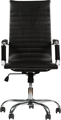 Winport Furniture High-Back Leather Executive Desk Chair