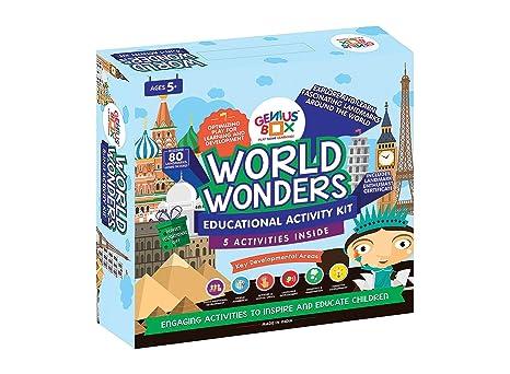 Genius Box Learning Toys for Children : World Wonders Activity Kit Explorer Toys at amazon