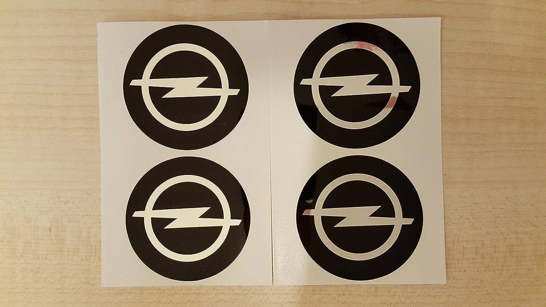 4 x 55 mm Durchmesser OPEL Rad Mitte Kappen Aufkleber Self Adhesive Emblem Decals Billig KI-001
