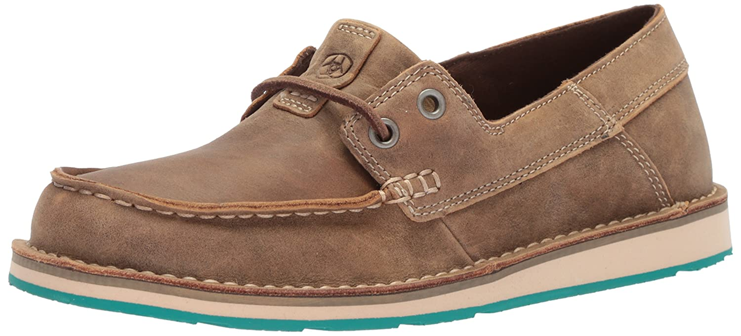 Ariat Women's Cruiser Castaway Sneaker B0725YMPHX 9 B(M) US|Brown Bomber