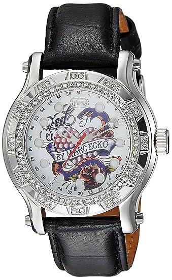 Marc Ecko Reloj Análogo clásico para Unisex de Cuarzo con Correa en Cuero E12589M1: Amazon.es: Relojes