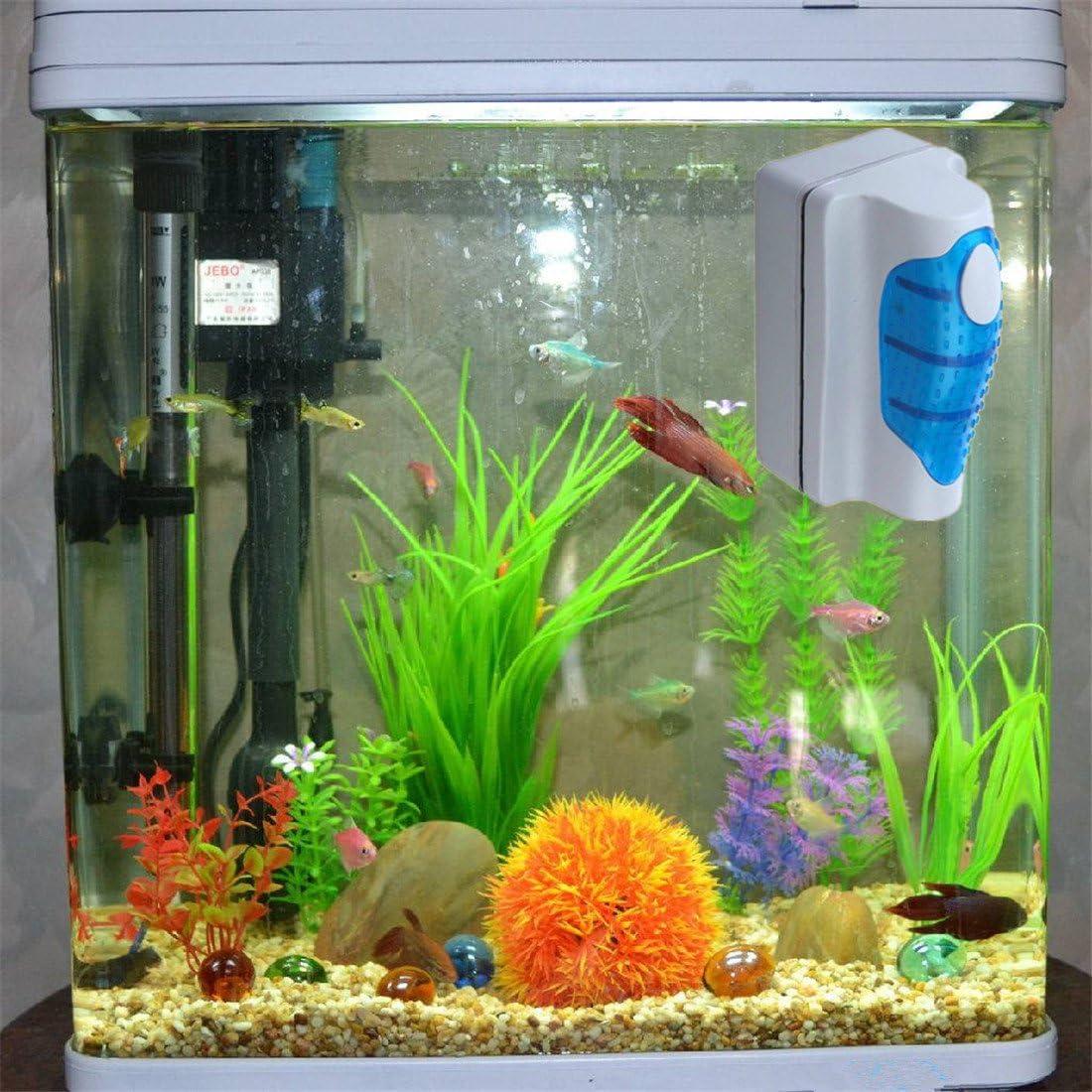 Amlaiworld Fish Tank Floating Aquarium Magnetic Glass Algae Scrubber Cleaner Brush Tool