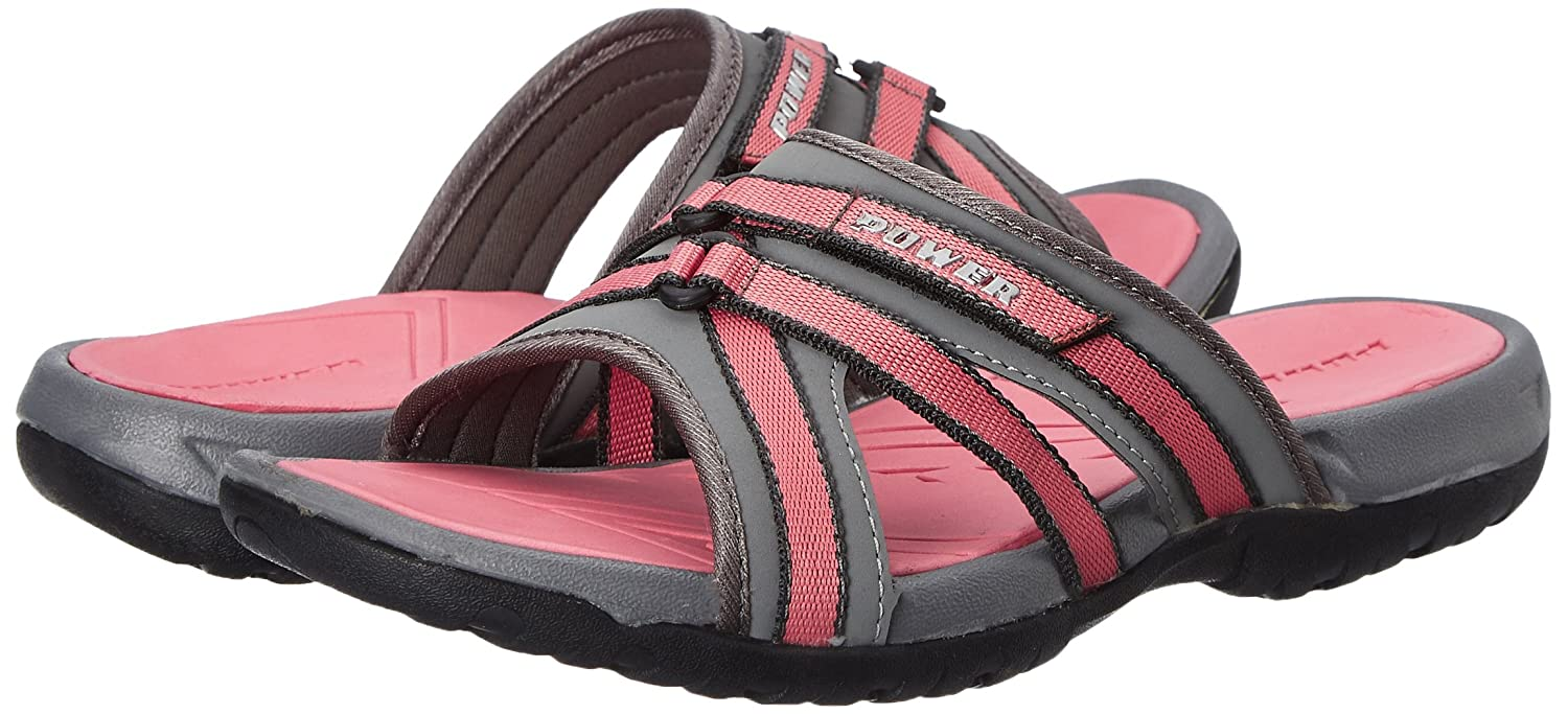 c8383edcc1fd Power Women s Bani Red Slippers - 5 UK India (38 EU)(5715360)  Buy Online  at Low Prices in India - Amazon.in