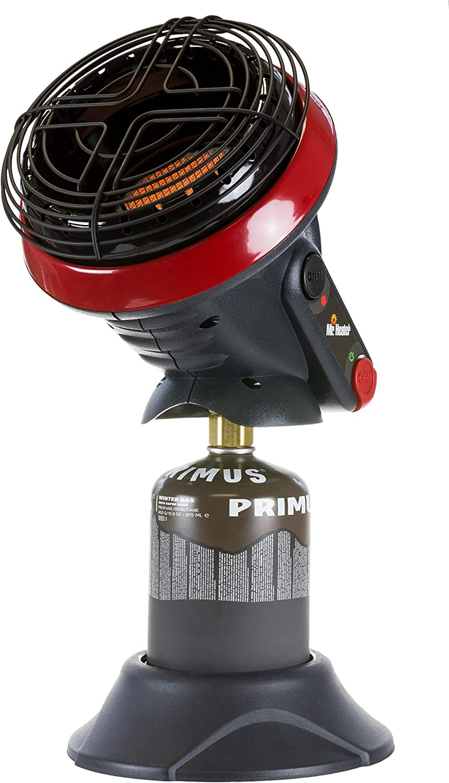 Mr. heater MH4BDF Little Buddy - 1.15 - 2.4 KW - calienta 8m2 - tiempo de funcionamiento 5 horas - calentador portátil - funciona con un cartucho de ...