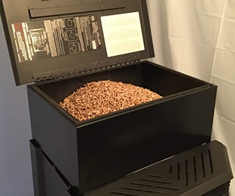 Amazon.com: 2000 SQ ft. Estufa de pellets Hopper Extension ...
