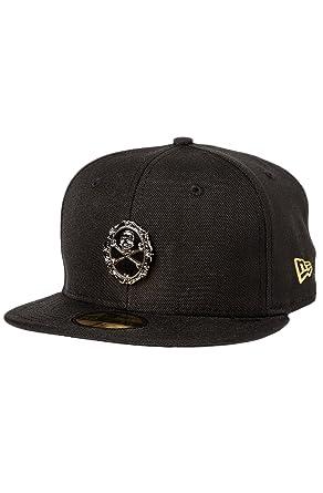 Amazon.com  BLVCK SCVLE Men s Afterlife New Era Hat 7 1 2 Black ... 09ec0ad252f