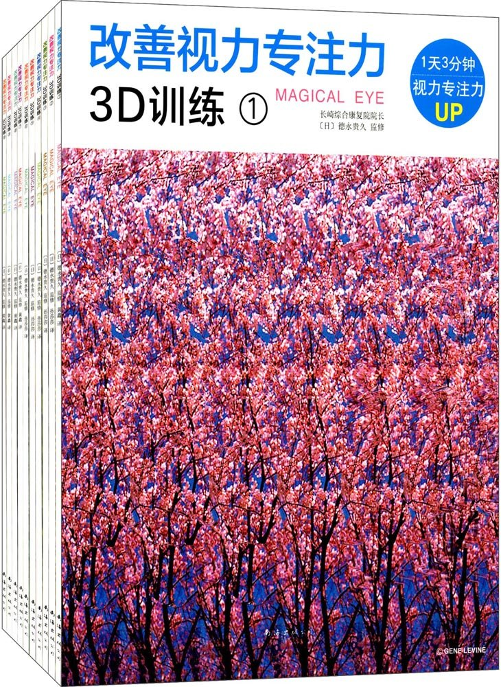 Download 改善视力专注力3D训练(全10册) pdf epub