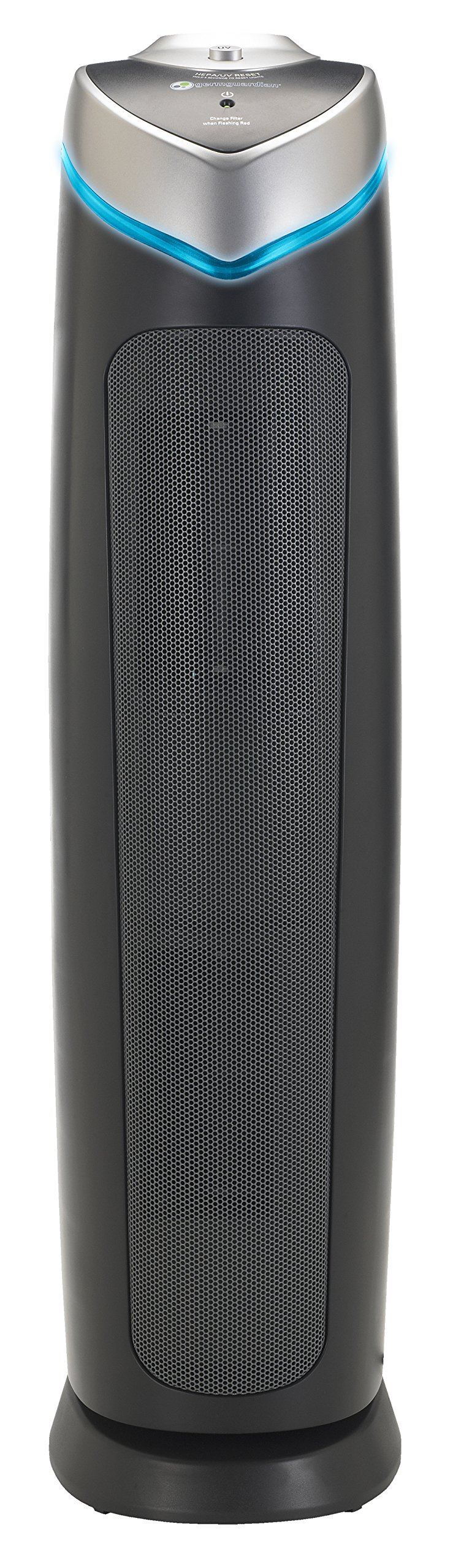 GermGuardian AC5000E 3-in-1 Air Purifier with True HEPA Filter, UV-C Sanitizer, Captures Allergens, Smoke, Odors, Mold, Dust, Germs, Pets, Smokers, 28-Inch Germ Guardian Air Purifier by Guardian Technologies (Image #2)