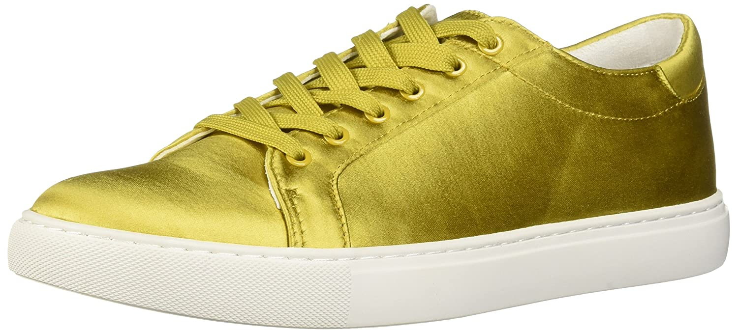 Kenneth Cole New York Women's Kam Techni-Cole Satin Lace-up Sneaker B07BT553MJ 10 B(M) US|Yellow/Gold