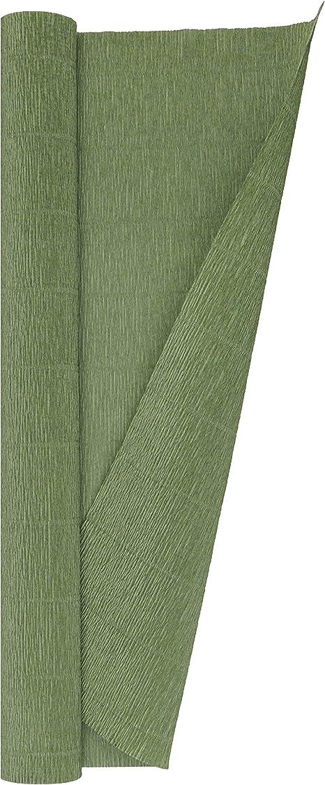 13.3 sqft Yellow Crepe Paper Roll Premium Italian Heavy 180 g