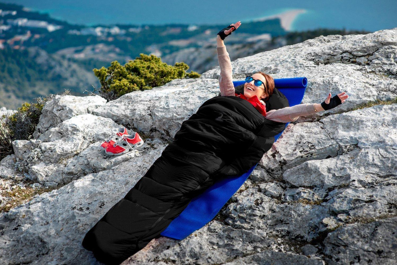 1200g Piuma DOca 3-4 Stagioni 10℃ Impermeabile Compatto Traspirante per Campeggio e Escursioni LYDUO Sacco a Pelo Invernale Mummia Invernale Singolo per Adulto